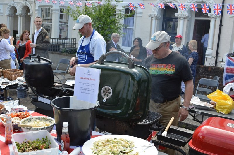 Pulborough Road 2016 Street Party